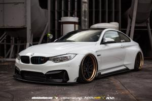 2015 BMW M4 Coupe on ADV.1 Wheels (ADV7 Track Spec CS)