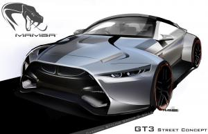 BMW M4 MAMBA GT3 Street Concept by Hoffy Automobiles 2015 года