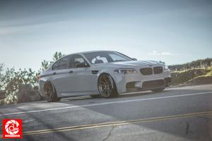 2015 BMW M5 by R1 Motorsport on ADV.1 Wheels (ADV52TSSL)