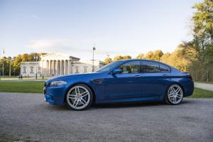 2015 BMW M5 in Blue by G-Power