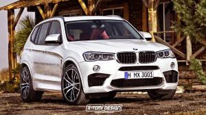 BMW X3 M Concept by X-Tomi Design 2015 года