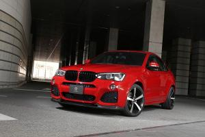 2015 BMW X4 M Sport by 3D Design