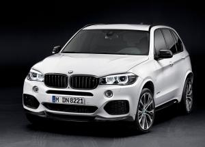 BMW X5 M Performance Parts 2015 года