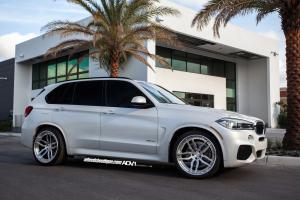 BMW X5 on ADV.1 Wheels (ADV005TSCS) 2015 года