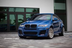 BMW X6 M on ADV.1 Wheels (ADV7DEEP) 2015 года
