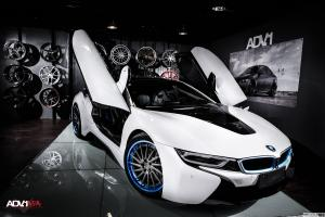 2015 BMW i8 on ADV.1 Wheels (ADV15RTSSL)