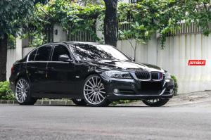 BMW 325i Sedan on Vossen Wheels (VFS2) 2016 года