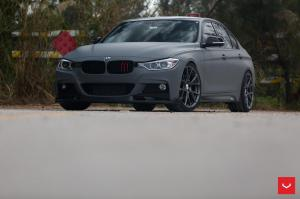 BMW 328i Sedan on Vossen Wheels (VFS-6) 2016 года