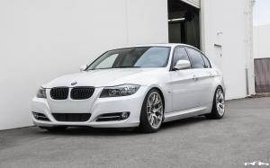 2016 BMW 335i Sedan Alpine White by EAS
