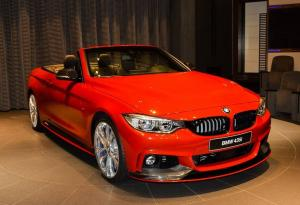 2016 BMW 435i Convertible in Melbourne Red by Abu Dhabi Motors