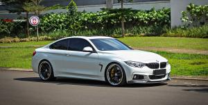 BMW 435i Coupe by Concept Motorsport on HRE Wheels (S107) 2016 года