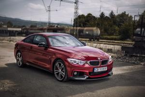 BMW 440i Coupe xDrive M Performance Red Edition 2016 года