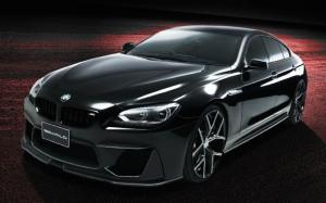 BMW 6-Series Gran Coupe Black Bison by Wald 2016 года
