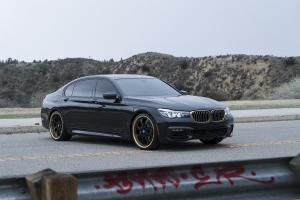 BMW 7-Series on Forgiato Wheels (Quattresimo) 2016 года