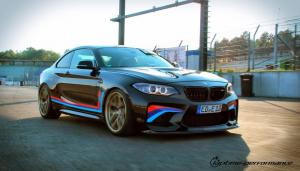 BMW M2 Coupe Black Beauty by Laptime-Performance 2016 года