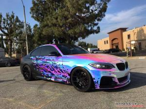 2016 BMW M235i by Impressive Wrap
