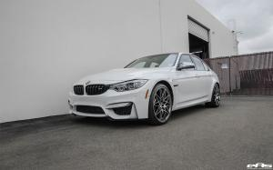 2016 BMW M3 Sedan Alpine White Stage II by EAS