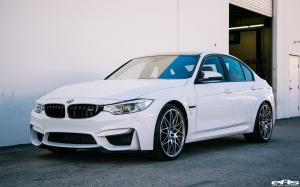 BMW M3 Sedan Alpine White by EAS 2016 года