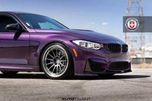 2016 BMW M3 Sedan Daytona Violet by Auto Talent