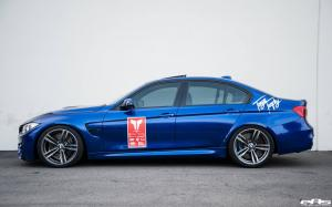 2016 BMW M3 Sedan San Marino Blue by EAS