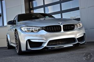 BMW M3 Sedan Silverstone by Hamann and DS Automobile 2016 года