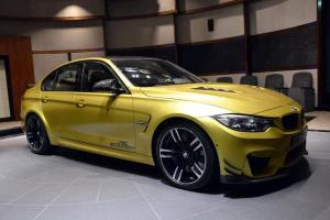 BMW M3 Sedan by Abu Dhabi Motors 2016 года