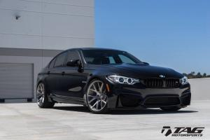 2016 BMW M3 Sedan by TAG Motorsports on Vossen Wheels (VPS 306)
