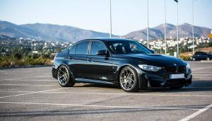 BMW M3 Sedan on Vorsteiner Wheels (V-FF 103) 2016 года
