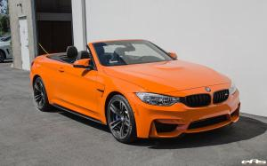 2016 BMW M4 Convertible Individual Fire Orange by EAS