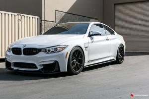 2016 BMW M4 Coupe Alpine White on BBS Wheels