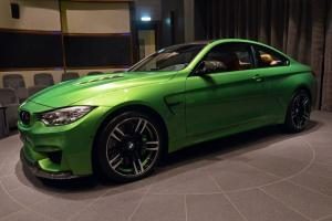BMW M4 Coupe Java Green by Abu Dhabi Motors 2016 года
