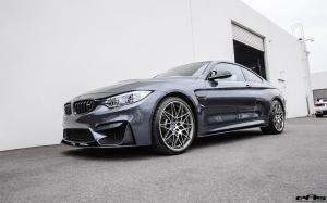 BMW M4 Coupe Mineral Grey Metallic Competition Package by EAS 2016 года