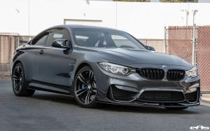 2016 BMW M4 Coupe Mineral Grey Metallic by EAS and AC Schnitzer