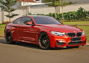2016 BMW M4 Coupe Shakir Orange by Concept Motorsport on HRE Wheels (HRE 303M)