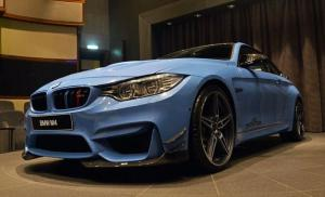 BMW M4 Coupe Yas Marina Blue by AC Schnitzer 2016 года