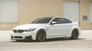 BMW M4 Coupe by Liberty Walk on ADV.1 Wheels (ADV05 TRACK SPEC SL) 2016 года