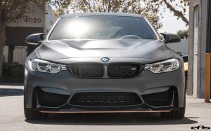 2016 BMW M4 GTS in Frozen Dark Grey Metallic by EAS