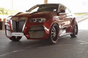 2016 BMW X6 AG Alligator by AG Excalibur