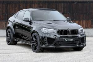BMW X6 M Typhoon by G-Power 2016 года