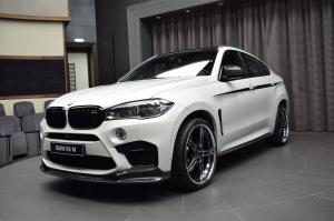 BMW X6 M by 3D Design and Abu Dhabi Motors 2016 года
