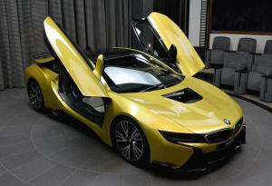 2016 BMW i8 Austin Yellow by AC Schnitzer and Abu Dhabi Motors