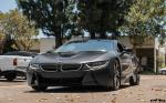 BMW i8 in Black by EAS 2016 года