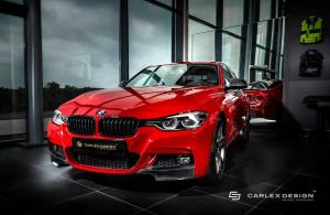 BMW 320i Sedan by Carlex Design 2017 года
