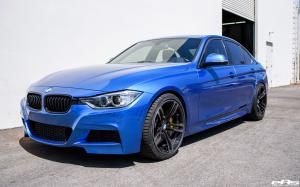 BMW 335i Sedan Estoril Blue M Performance by Dinan and EAS 2017 года