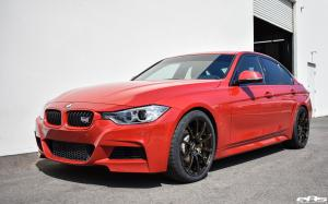 BMW 335i Sedan Melbourne Red by EAS 2017 года