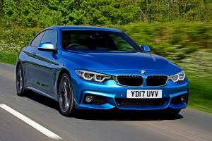 BMW 420d Coupe M Sport 2017 года (UK)
