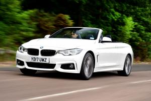 BMW 430i Convertible M Sport Package 2017 года (UK)