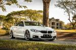 BMW 435i Coupe Alpine White on ADV.1 Wheels (ADV05 M.V2 SL) 2017 года