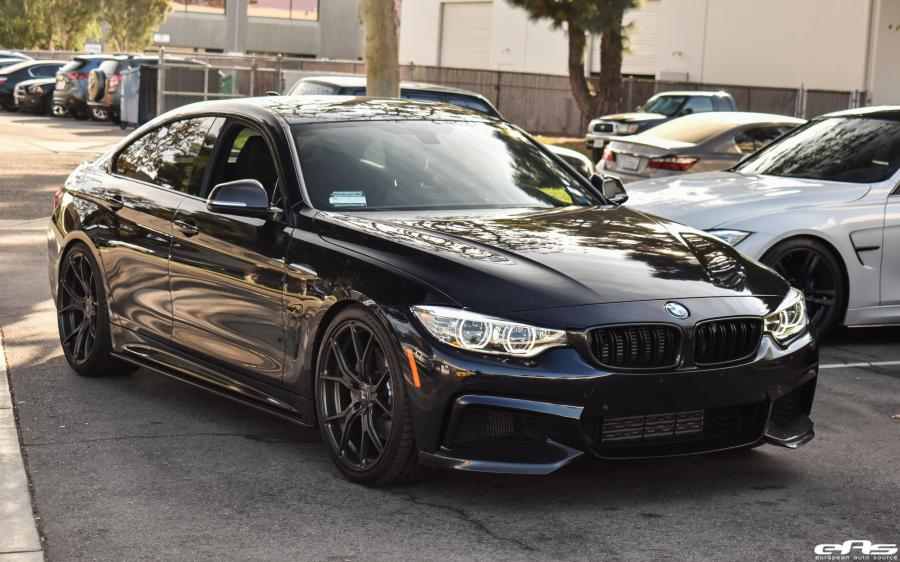 BMW 435i Gran Coupe Carbon Black by EAS