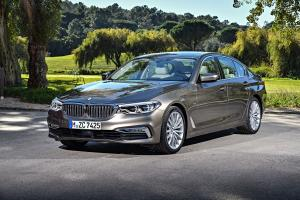 BMW 520d Sedan Luxury Line 2017 года